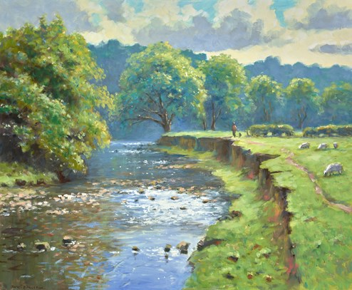 Peckwash by James Preston - Original Painting on Stretched Canvas